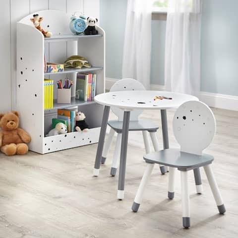 Simple Living Talori Kids Table Set with Bookshelf