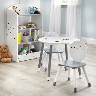Simple Living Talori Kids Table Set with Bookshelf