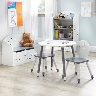 Simple Living Talori Kids Table Set with Bookshelf and Toybox