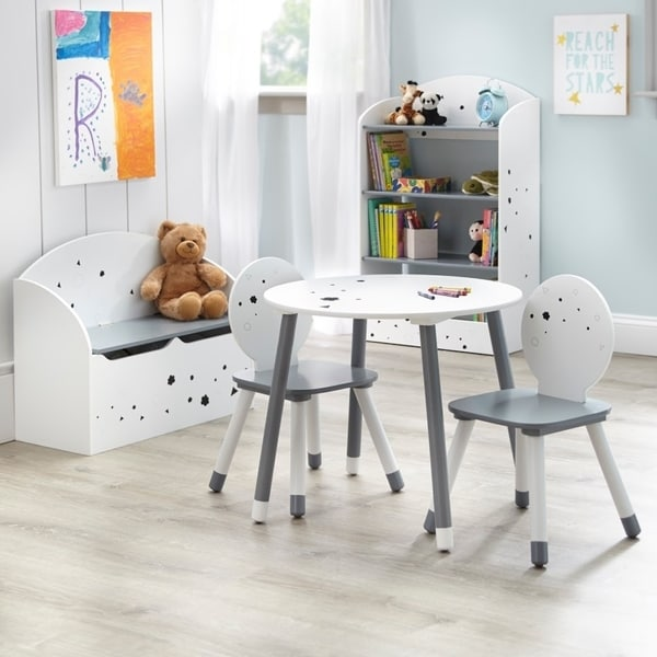 Shop Simple Living Talori Kids Table Set With Bookshelf And Toybox Impressive Bookshelves Living Room Set