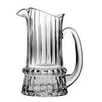 Majestic Gifts High Quality Cut Crystal Pitcher - 44 oz.- Made in Europe