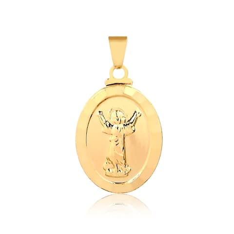 Gold Plated Nino Pendant
