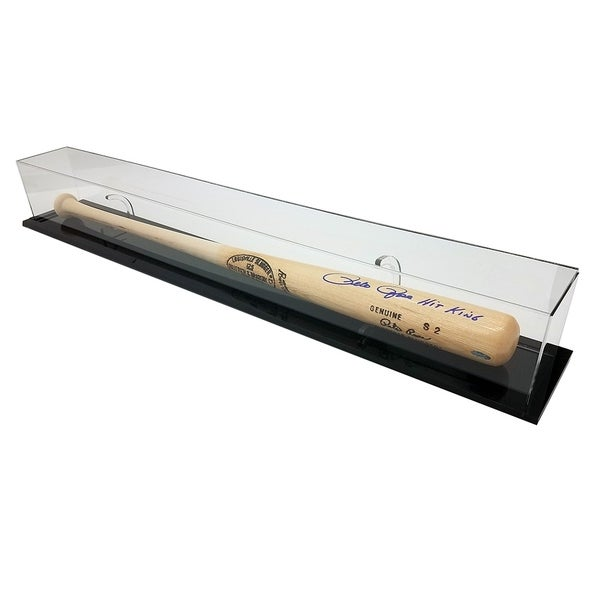 Deluxe Wall Mounted/Tabletop UV-Protected Baseball Bat Display Case