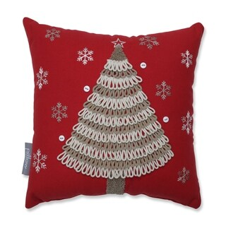 Country Home Tree 12-inch Throw Pillow