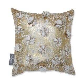 Glamour Poms 12-inch Throw Pillow