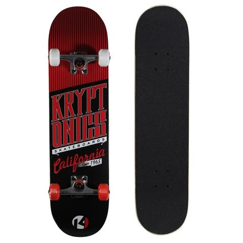 "Kryptonics Star Series Complete Skateboard (31"" x 8"") - 31"