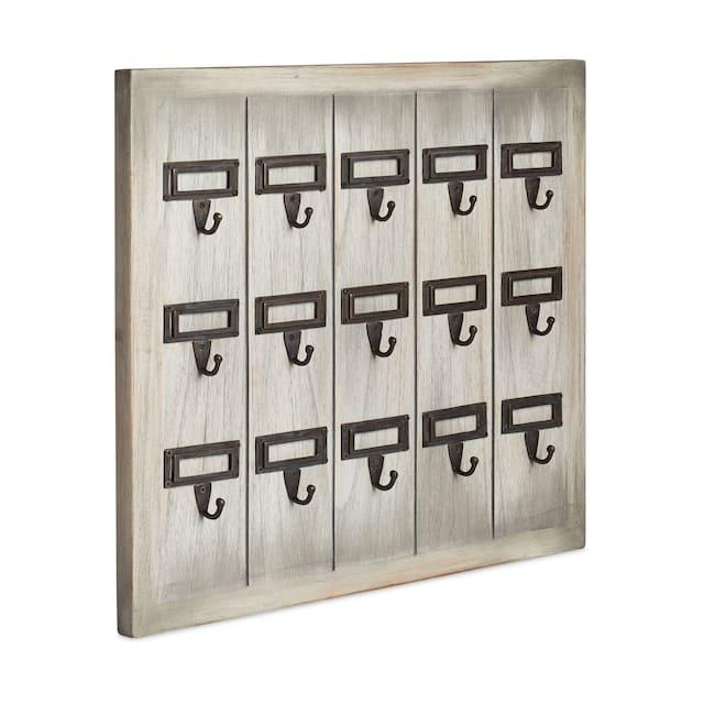 Mahogany Key Rack