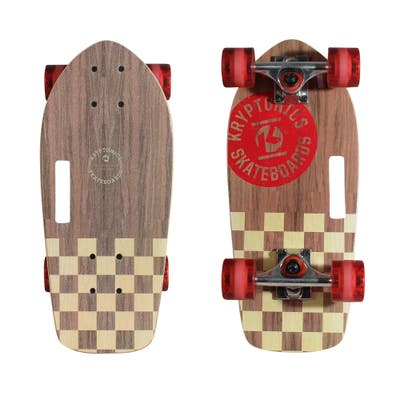 "Kryptonics 19"" Stubby Cruiser Skateboard (19"" x 8.7"") - 19"