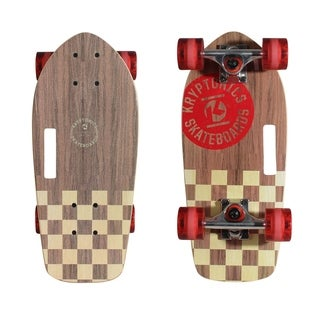 "Kryptonics 19"" Stubby Cruiser Skateboard (19"" x 8.7"") - 19"