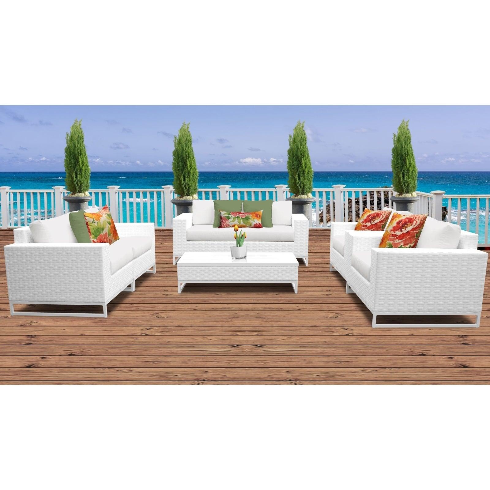 Outdoor Wicker Patio Furniture Set 07c