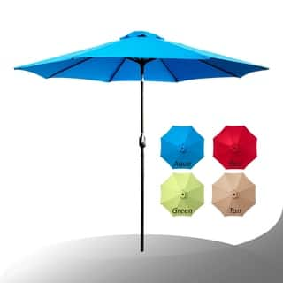 Maypex 9 Feet Crank and Tilt Market Umbrella