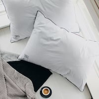 Pillow Guy White Goose Down Sleeper Pillow Set of 2