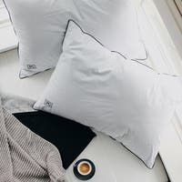 Pillow Guy 400 Thread Count Cotton Sateen Pillow Protector Set of 2