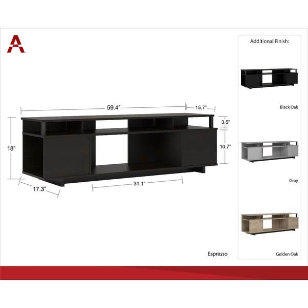 Shop Avenue Greene Naperville TV Stand for TVs up to 65 inch