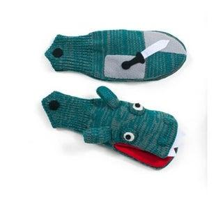 Kidorable Knit Knight Gloves, Medium