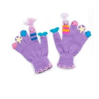 Kidorable Knit Mermaid Gloves, Medium