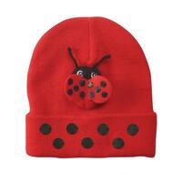 Kidorable Adorable Novelty Knit Hat - Ladybug