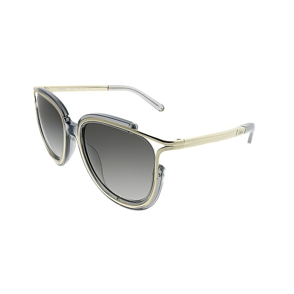 465bf71c7f71 Chloe Square CE 688S Jayme 036 Women Dark Grey Frame Grey Gradient Lens  Sunglasses