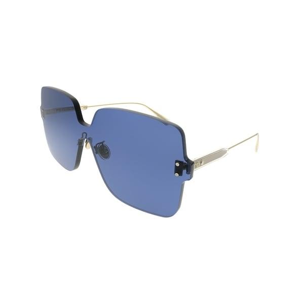 3ff382a1b362 Dior Square Dior Color Quake 1 PJP KU Women Blue Frame Blue Lens Sunglasses
