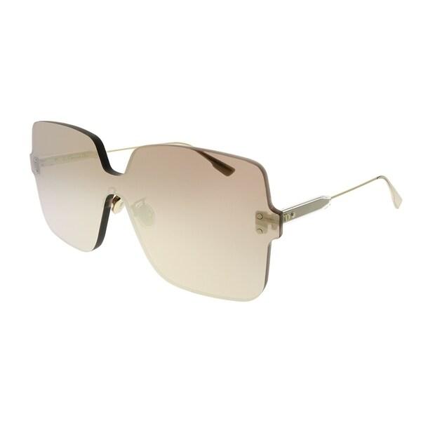 fc42de0d384 Dior Square Dior Color Quake 1 DDB SQ Women Gold Copper Frame Gold Copper  Mirror Lens