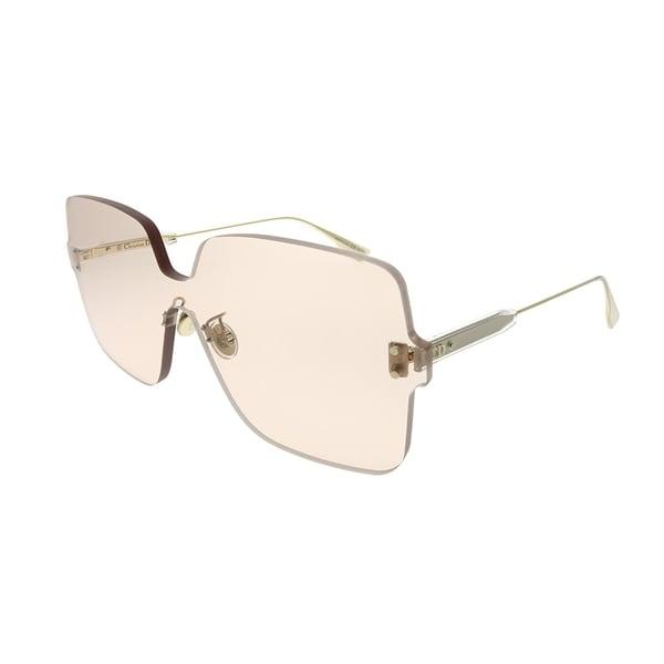 7ccd18b9e1d8c Dior Square Dior Color Quake 1 FWM VC Women Nude Frame Light Brown Lens  Sunglasses