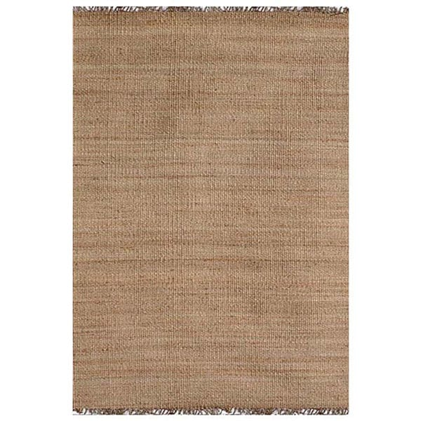 Hand-woven Natural Jute Rug (8' x 10'6)