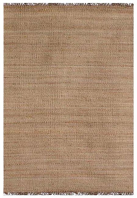 Hand-woven Natual Jute Rug (8' x 10'6) - 8' x 10'6