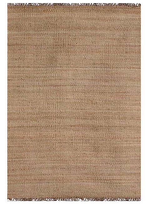 Hand-woven Natural Jute Rug (9' x 13')