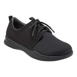 Women's SoftWalk Relax Sneaker Black Sport Lycra/Microfiber Stretch