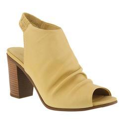 Women's Azura Bojinka Slingback Bootie Yellow Leather (4 options available)