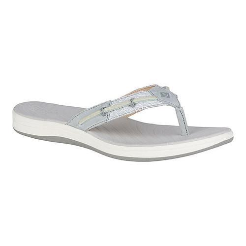 2fcac3e3c85e07 Shop Women s Sperry Top-Sider Seabrook Surf Thong Grey Mesh - Free Shipping  On Orders Over  45 - Overstock - 20101875