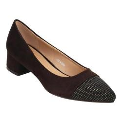 Women's Beston Lily-1 Pointed Toe Pump Dark Brown Faux Suede (5 options available)