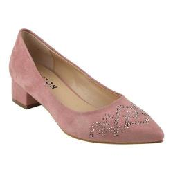 Women's Beston Lily-1 Pointed Toe Pump Pink Faux Suede (More options available)