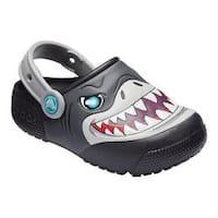 Children's Crocs Fun Lab Lights Clog Kids Black
