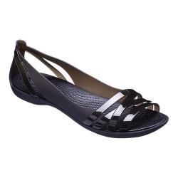 Women's Crocs Isabella Huarache II Flat Black/Black