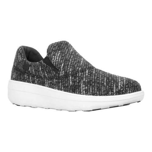1df1133e428ffd Shop Women s FitFlop Loaff Sporty Slip-On Sneaker Urban White Black Wool -  Free Shipping Today - Overstock - 20110505