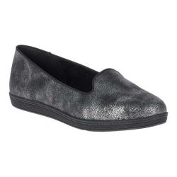 Women's Soft Style Faline Smoking Flat Black Mist Synthetic (More options available)