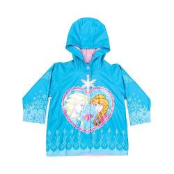 Girls' Western Chief Frozen Elsa and Anna Raincoat Blue