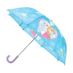 Girls' Western Chief Frozen Elsa and Anna Umbrella Blue