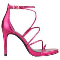 Women's Kenneth Cole New York Bryanna Strappy Sandal Pink Leather
