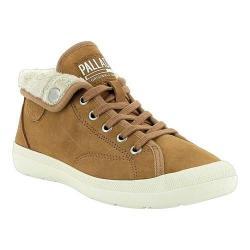 Women's Palladium Aventure Warm SUE Sneaker Brown Sugar/Beige Suede