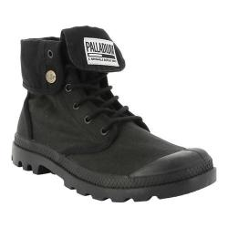 Palladium Baggy Army TRNG Camp Boot Black/Black Cotton Textile