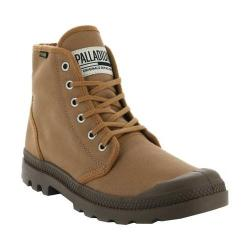 Palladium Pampa Hi Originale Boot Bone Brown Canvas