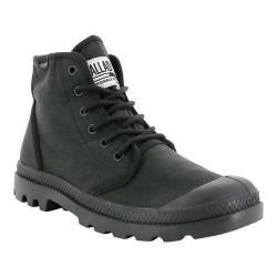 Palladium Pampa Hi Originale TC Boot Black/Black Cotton Textile
