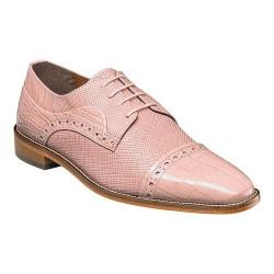 Men's Stacy Adams Rodrigo Cap Toe Oxford 25168 Misty Rose Leather