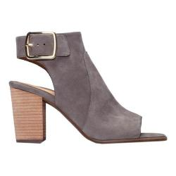 Women's Vionic with Orthaheel Technology Blakely Slingback Heel Grey Suede