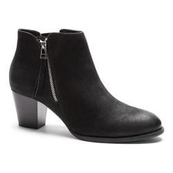 Women's Vionic with Orthaheel Technology Sterling Ankle Boot Black