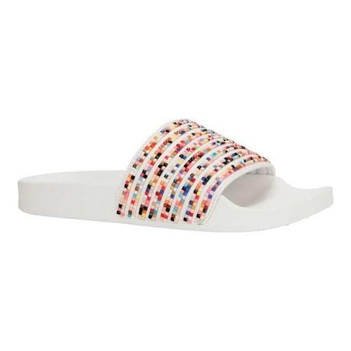 a19eb1f09 Shop Women s Kenneth Cole Reaction Pool Game Slide White Polyurethane -  Free Shipping On Orders Over  45 - Overstock - 20146178