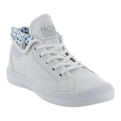 Women's Palladium Aventure CVS High Top Sneaker White/White Canvas (More options available)