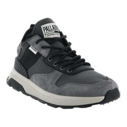 Men's Palladium Ax Eon Army Running Sneaker Asphalt/Anthracite/Black Nylon/Neoprene/Suede